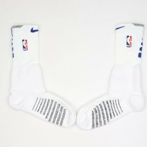 New Nike NBA Detroit Pistons Team Issued Socks XL